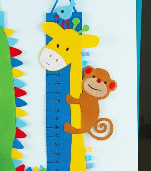 【FINALSALE】GROWTH CHART GIRAFFE